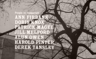 Main title from The Servant (1963) (7)