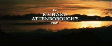 Main title from Shadowlands (1993) (6).  In Richard Attenborough's film
