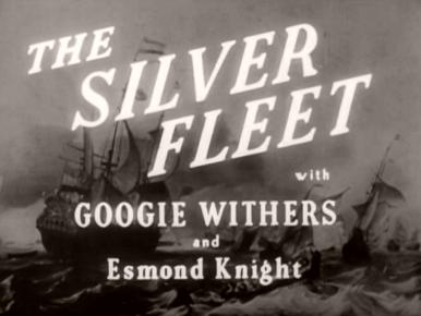 Main title from The Silver Fleet (1943) (4).  With Googie Withers and Esmond Knight