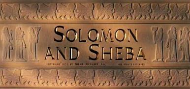 Main title from Solomon and Sheba (1959) (4)