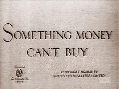 Main title from Something Money Can't Buy (1952)