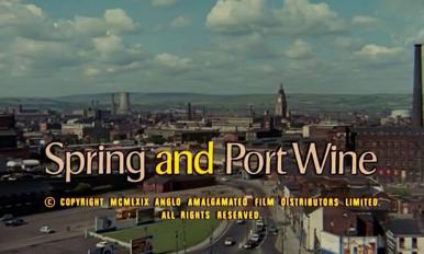 Main title from Spring and Port Wine (1970) (3)