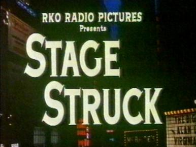 Main title from Stage Struck (1958).  A young actress comes to New York intent on stardom...