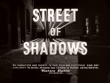 Main title from Street of Shadows (1953) (3)
