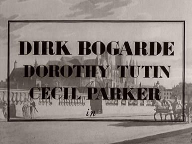 Main title from A Tale of Two Cities (1958) (4).  Dirk Bogarde Dorothy Tutin, Cecil Parker in
