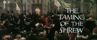 Main title from The Taming of the Shrew (1967) (6)