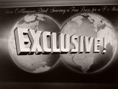 Overseas Press Club – Exclusive! (1957) opening credits (1)