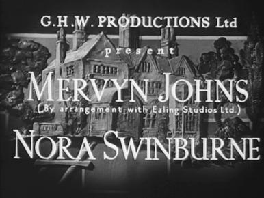 They Knew Mr Knight (1946) opening credits (2)
