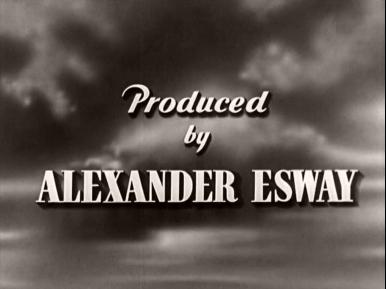Main title from Thunder in the City (1937) (5).  Produced by Alexander Esway