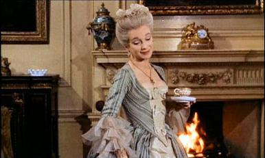 Joan Greenwood in a film clip from Tom Jones
