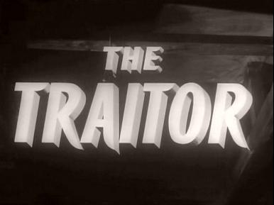 Main title from The Traitor (1957) (3)