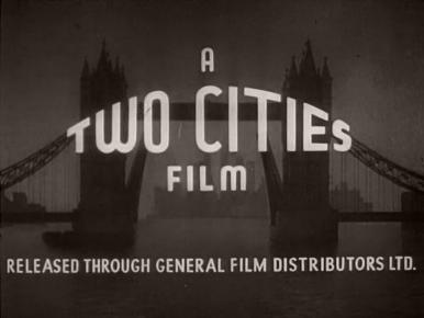 Main title from The Weaker Sex (1948) (3).  A Two Cities film.  Released through General Film Distributors Ltd