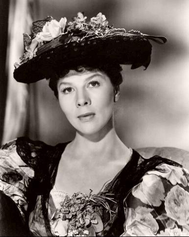 British actress Wendy Hiller in a photograph from Carol Reed's 1951 film, Outcast of the Islands