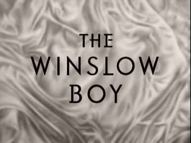 Main title from The Winslow Boy (1948) (3)