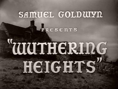 Main title from Wuthering Heights (1939)