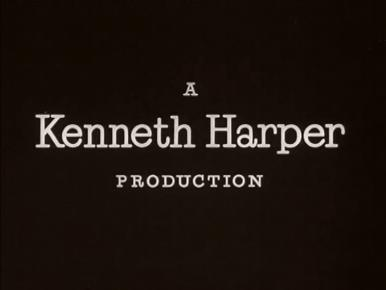 Main title from Yield to the Night (1956) (2).  A Kenneth Harper Production