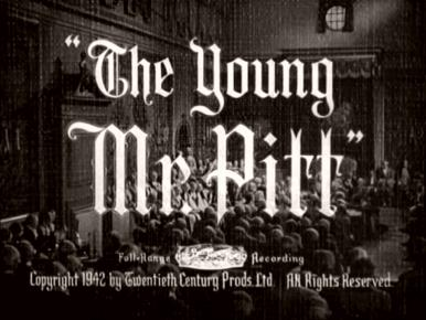 Main title from The Young Mr Pitt (1942) (2)