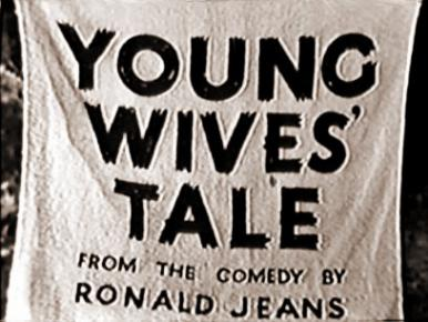 Main title from Young Wives' Tale (1951)