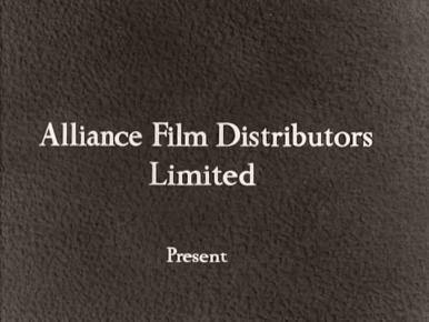 Main title from Your Money or Your Wife (1960) (1).  Alliance Film Distributors Limited present