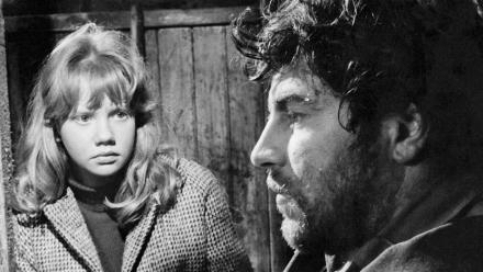 Photograph of Whistle Down the Wind (1961) (1) featuring Alan Bates, Hayley Mills