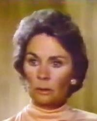 Gretchen Jordache Burke (Jean Simmons) in Beggarman, Thief (1979)