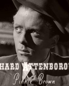 Main title from Brighton Rock (1948) (2).  Richard Attenborough as Pinkie Brown
