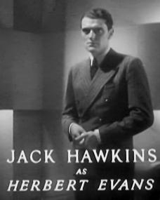 Main title from Death at Broadcasting House (1934) (10). Jack Hawkins as Herbert Evans