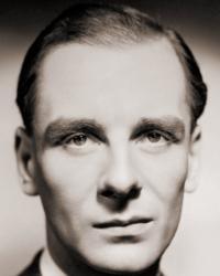 British actor, John Gielgud, a GB star
