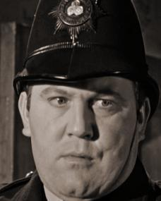 Terry Scott (PC Wells) discovers a crime in Murder Most Foul (1964)