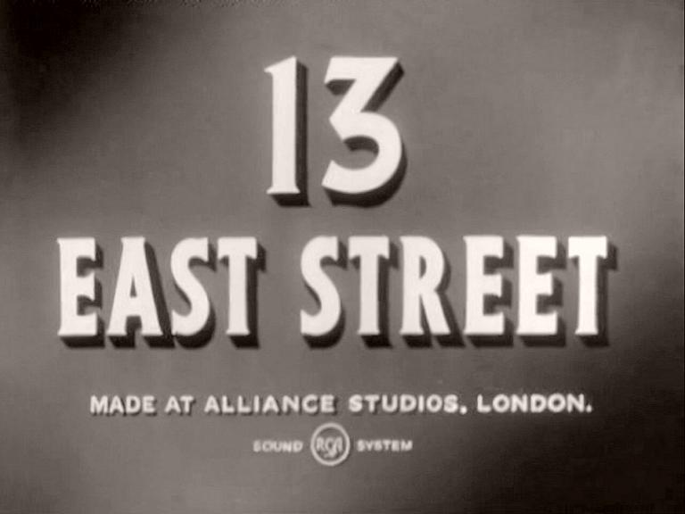 Main title from 13 East Street (1952)