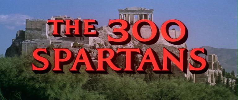 Main title from The 300 Spartans (1962) (3)