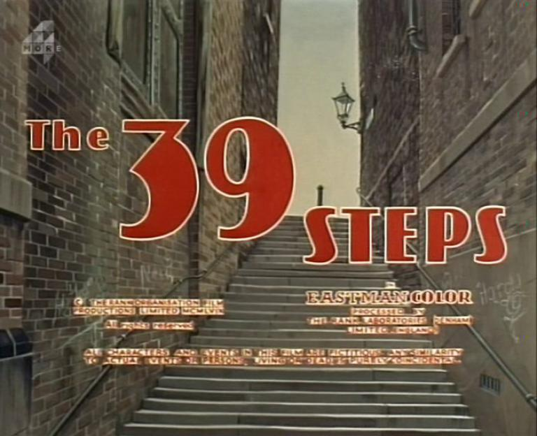 Main title from The 39 Steps (1959)