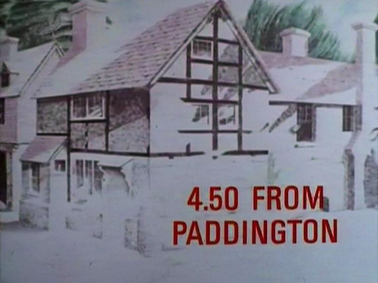 Main title from the 1987 '4.50 from Paddington' episode of Agatha Christie's Miss Marple (1984-1992) (1)