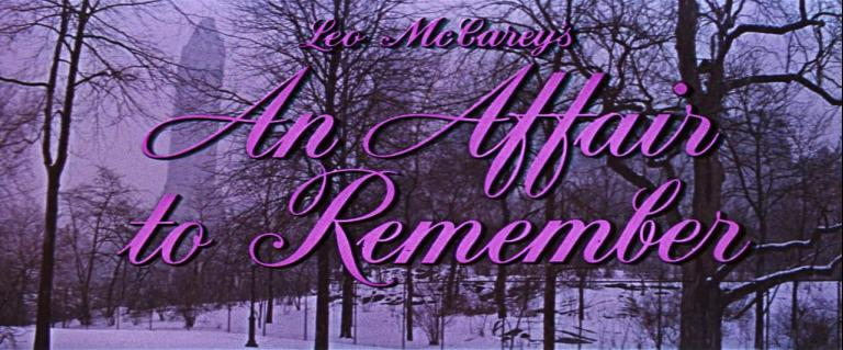 Main title from An Affair to Remember (1957) (1). Leo McCarey's An Affair to Remember