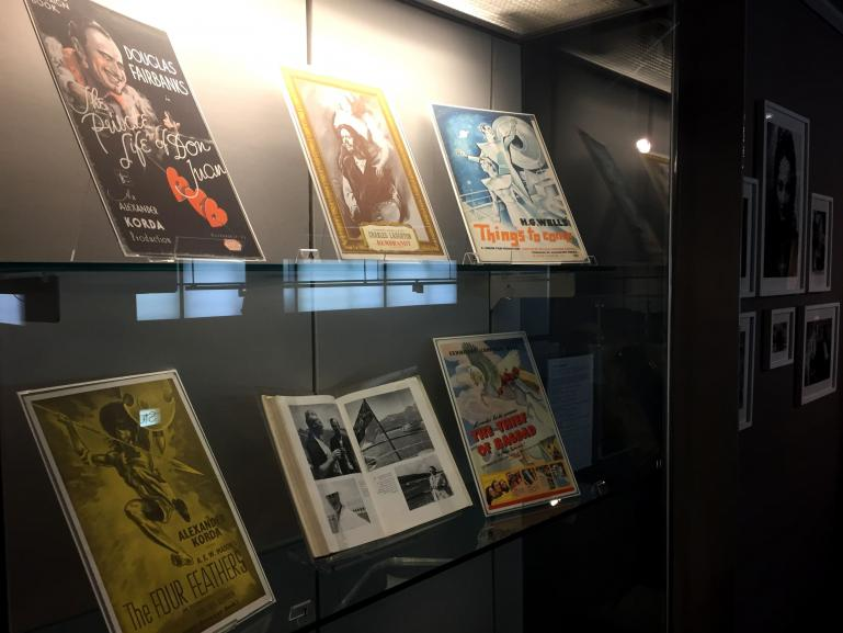 Picture from the 2019 BFI Southbank exhibition of Hungarian film-maker, Alexander Korda (2)