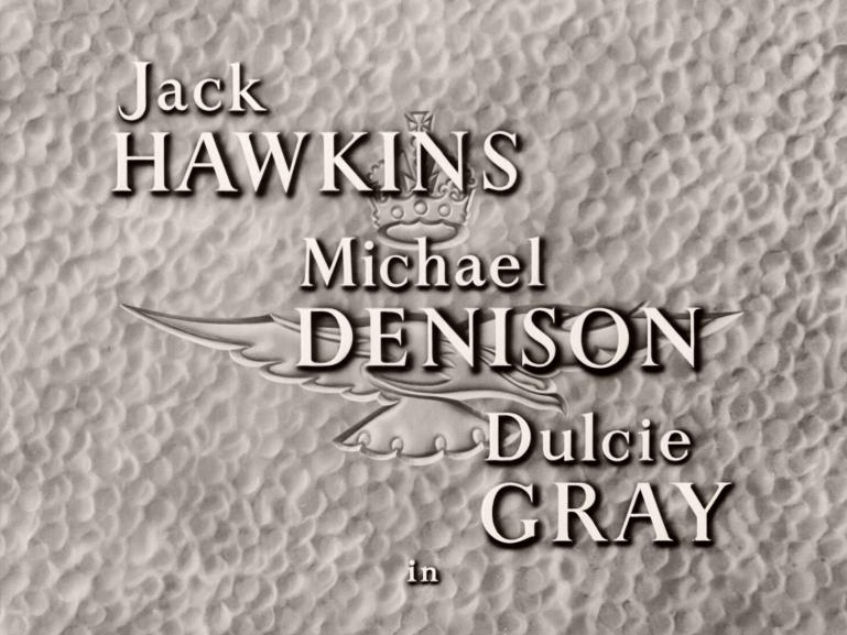 Main title from Angels One Five (1952) (2).  Jack Hawkins Michael Denison, Dulcie Gray in