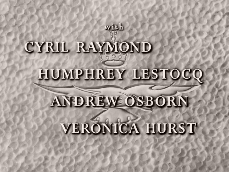 Main title from Angels One Five (1952) (5).  Cyril Raymond Humphrey Lestocq, Andrew Osborn, Veronica Hurst