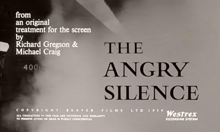 Main title from The Angry Silence (1960) (4)