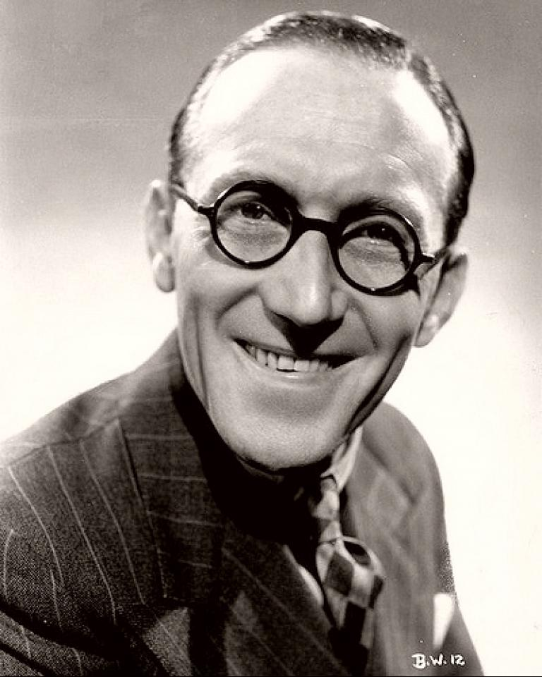 British actor and comedian Arthur Askey
