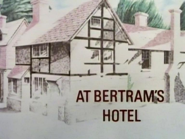 Main title from Miss Marple – At Bertram's Hotel (2)