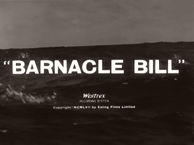 Opening credits from Barnacle Bill (1957) (5)