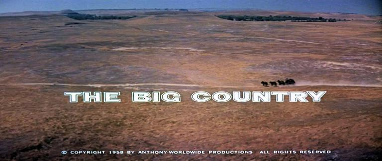 Main title from The Big Country (1958) (7)