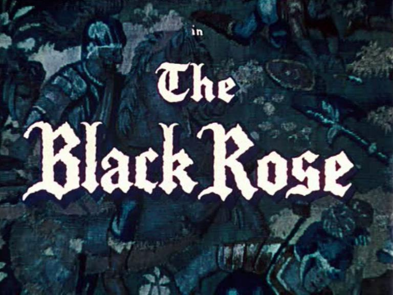 Main title from The Black Rose (1950) (3)