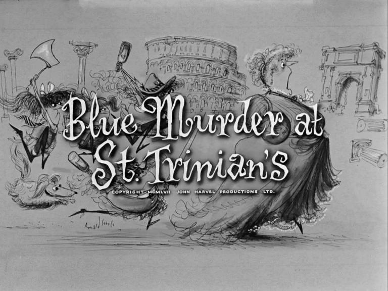 Main title from Blue Murder at St. Trinian's (1957) (4)