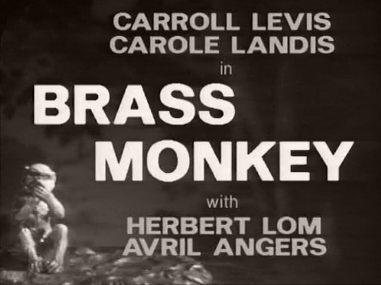 Main title from Brass Monkey (1948) (3)