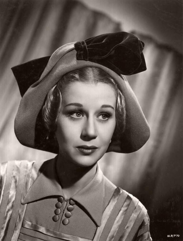 Margaret Leighton, British actress, pictured in 1948