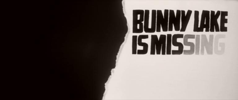 Main title from Bunny Lake is Missing (1965) (3)