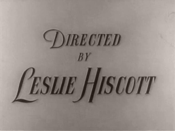 Main title from The Butler's Dilemma (1943) (8).  Directed by Leslie Hiscott