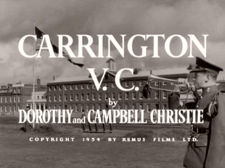 Main title from Carrington VC (1954) (4).   By Dorothy and Campbell Christie