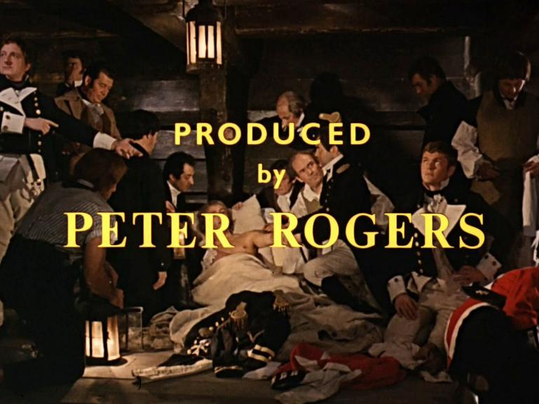 Main title from Carry on Jack (1964) (11).  Produced by Peter Rogers